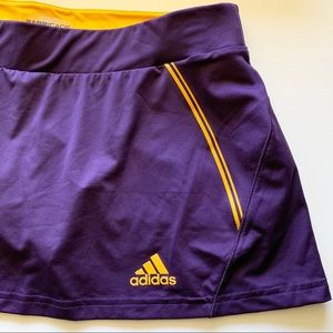 NWT Adidas Athletic Skort Barricade Purple SZ Med